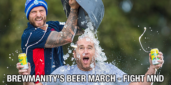Brewmanity's Beer March - Fight MDN