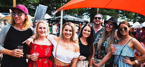 friends enjoying a BeerFest event